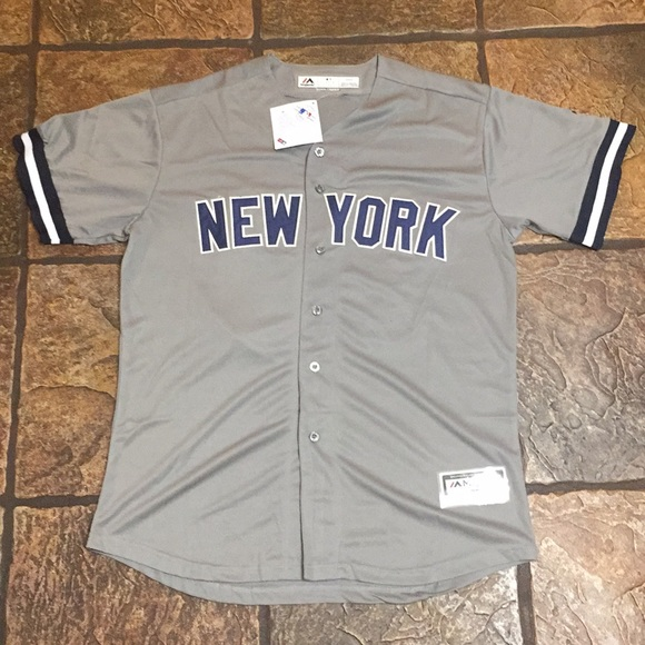 competitive price 1e992 2f3bb Aaron Judge - Yankees Away Jersey - Medium NWT